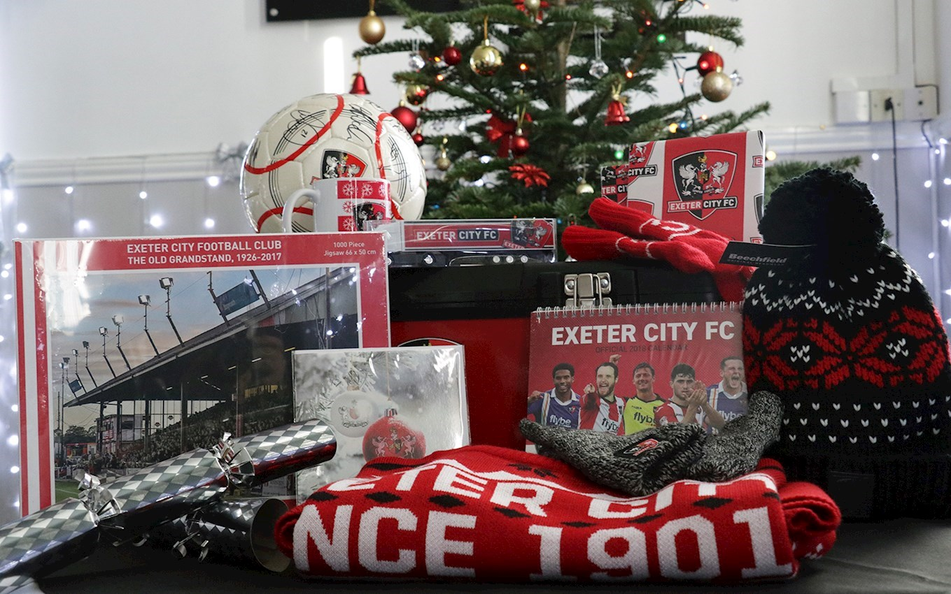 Score the perfect Christmas gifts & Score the perfect Christmas gifts - News - Exeter City FC