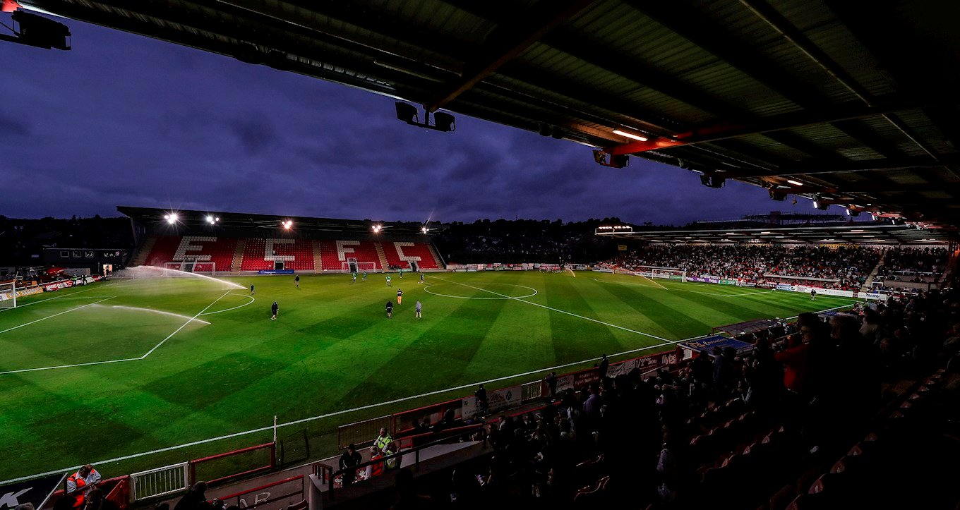 Exeter City Football Club: First visit to St James Park ...