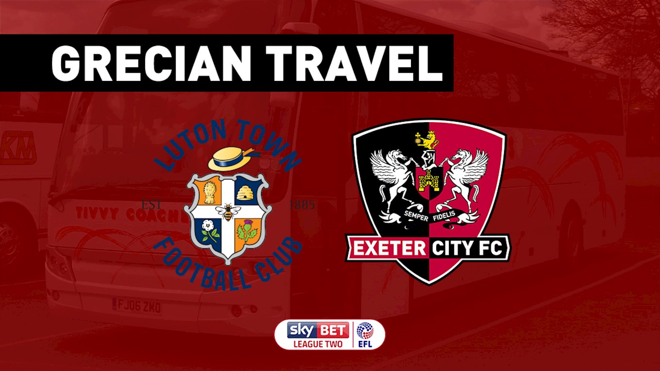 Honiton Road Park And Ride >> Grecian Travel: Luton Town (February 3) SOLD OUT - News ...