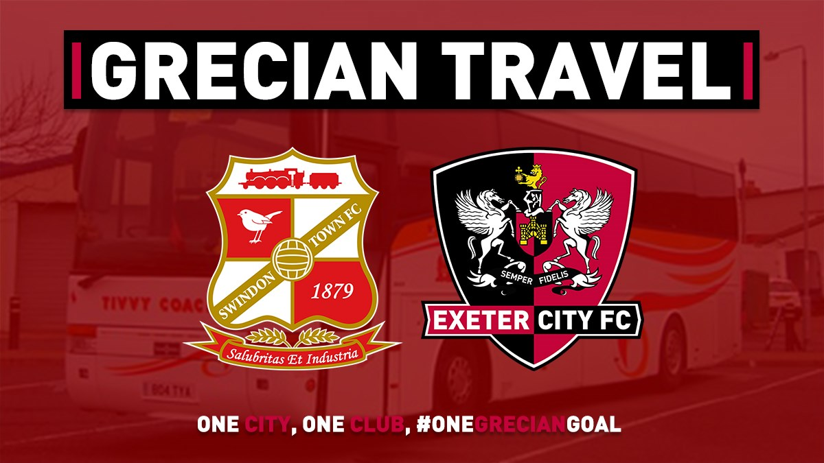 Honiton Road Park And Ride >> Grecian Travel: Swindon Town (1/2/20) - News - Exeter City FC
