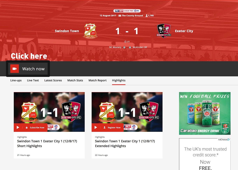 EFFIE: Match full website
