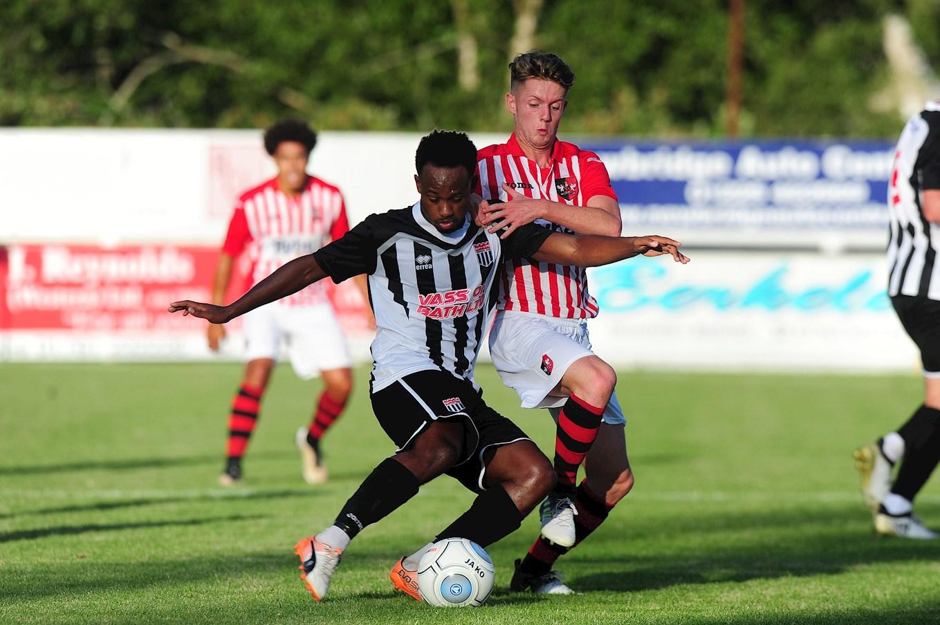 Season Ticket Loan >> Ben Seymour joins Weston-super-Mare on loan - News - Exeter City FC